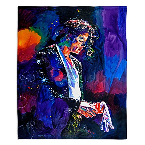 DiaNoche Fleece Blankets Soft Fuzzy 4 Sizes! DiaNoche - The Final Performance Michael Jackson - Toddler 40