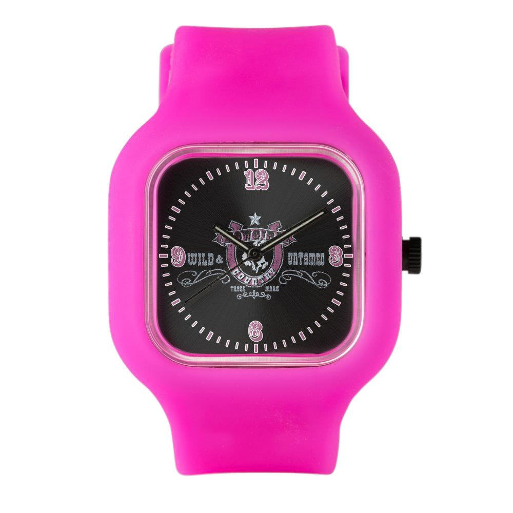 Bright Pink Fashion Sport Watch Cowgirl Country Wild and Untamed