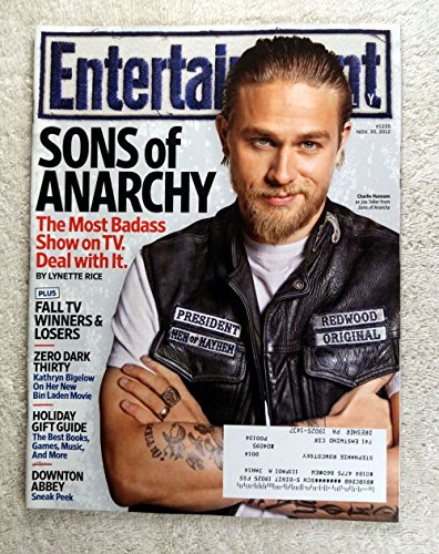 Charlie Hunnam (Jax Teller) - Sons of Anarchy - The Most Badass Show on TV - Entertainment Weekly - #1235 - November 30, 2012