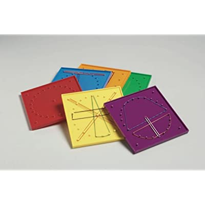 Didax Educational Resources Geoboard Group Set of 6: Arts, Crafts & Sewing