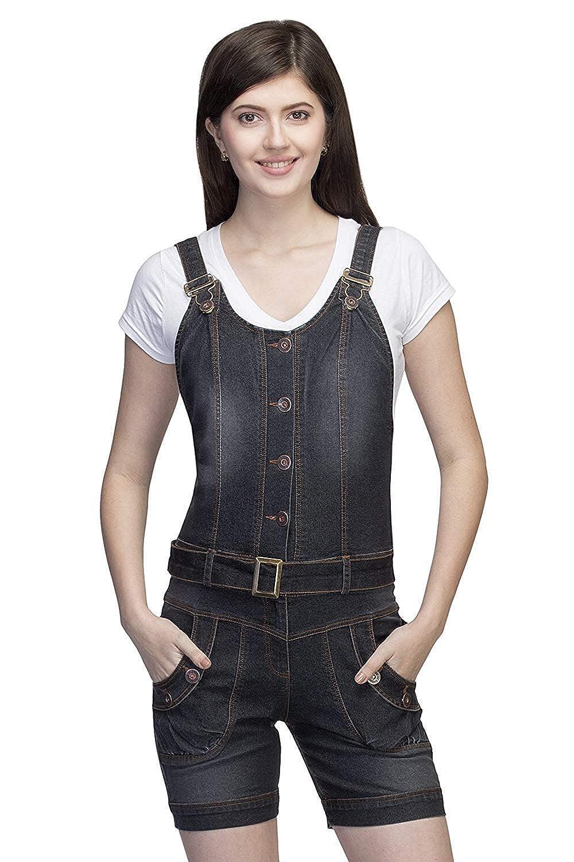 Ursense Denim Short Dungaree  Amazon.in  Clothing   Accessories f55a75d72
