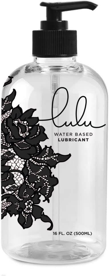 Lulu Lube Natural Water-Based Lubes for Men and Women