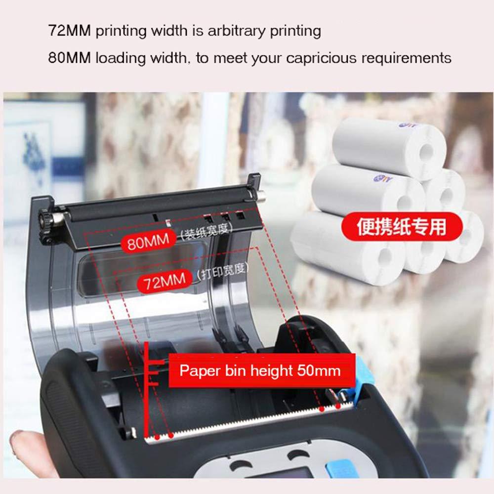 BAIYI Portable Bluetooth Label Printer Waterproof Drop-Proof One-Button Printing Express Label Printer by BAIYI (Image #2)