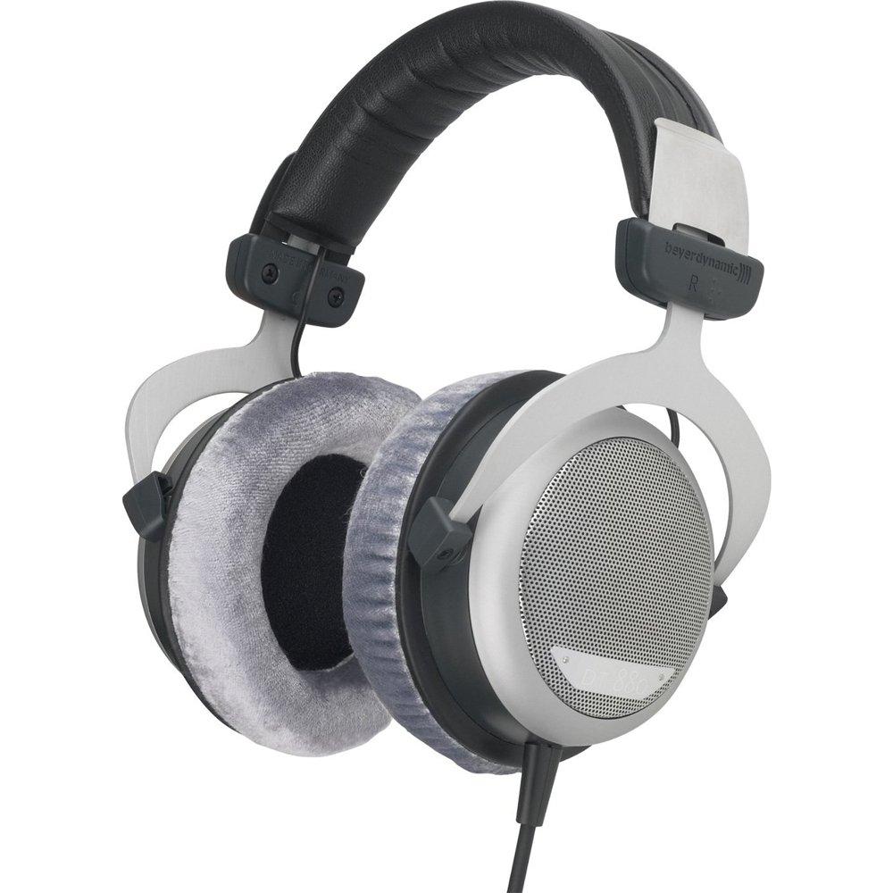 BeyerDynamic DT 880 Premium Headphones 250 OHM (481793) with Slappa HardBody Headphone Case, FiiO A1 Portable Headphone Amplifier (Silver) & 32GB MicroSD High-Speed Memory Card by Beach Camera (Image #6)