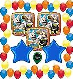 Bolt Birthday Party Supplies Balloon Decoration Bundle