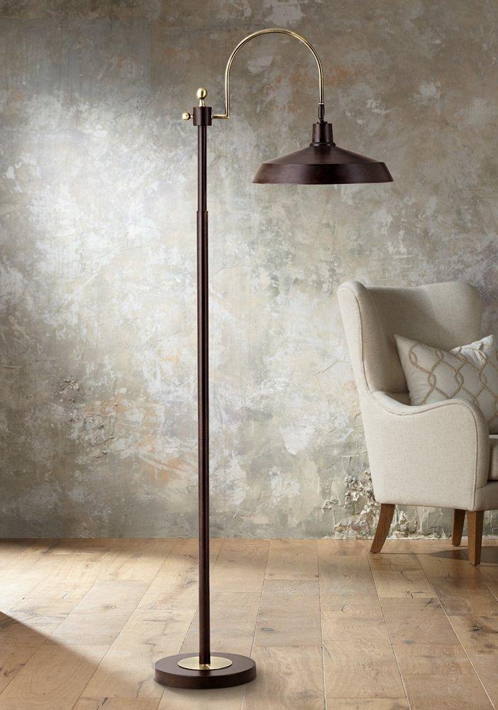 Nate Bronze Industrial Downbridge Floor Lamp - - Amazon.com