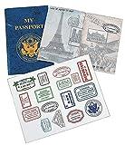 PASSPORT STICKER BOOK (1 DOZEN) - BULK