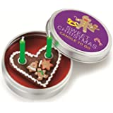 Donkey Kerze in Blechdeckeldose, Sweet Christmas, Candle to go, 220458