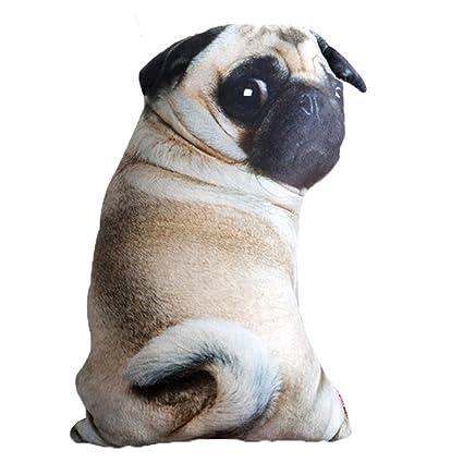 Amazon Com Eden Fghk Simulation Pug Dog Plush Stuffed Animal