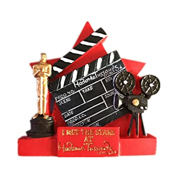 The Oscars Fridge Magnets Hollywood Los Angeles Tourist Souvenir 3D Resin  Academy Award Magnetic Refrigerator Stickers