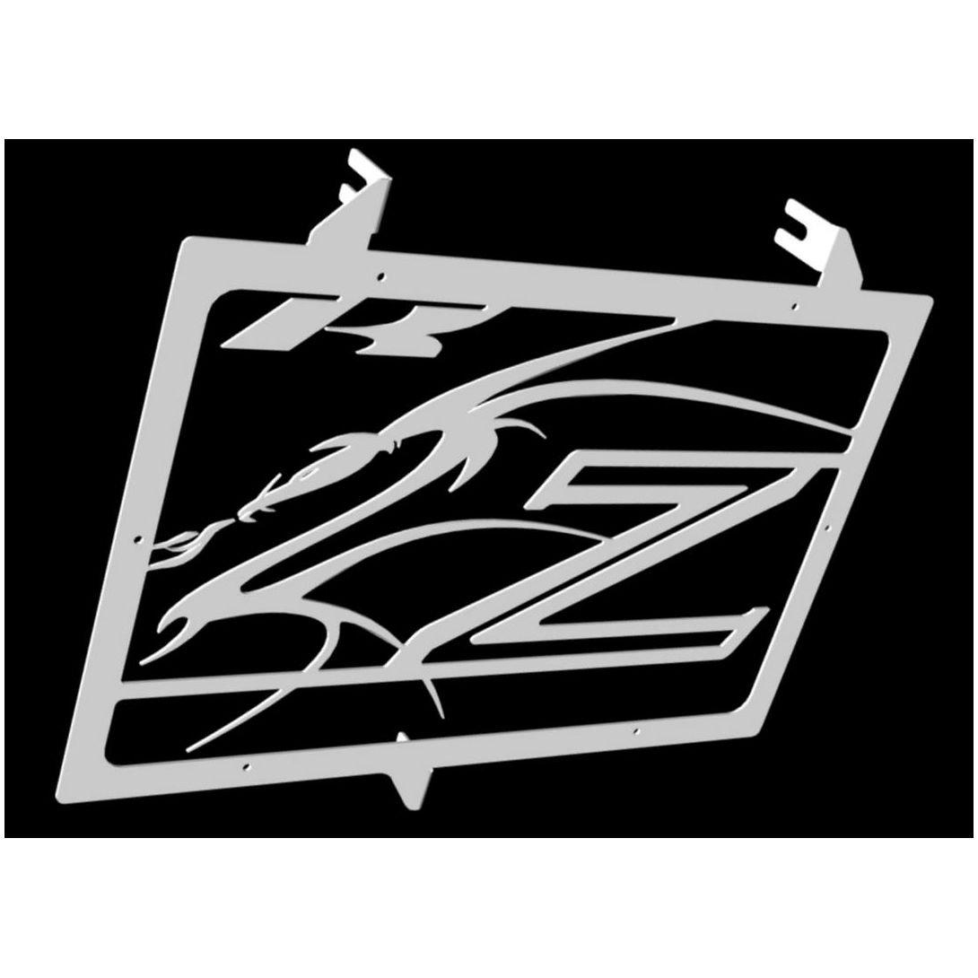Protezione radiatore / copri radiatore Kawasaki Z750 07>12 , Z800 13>16 e Z1000 07>14 design 'Dragon' Z800 13>16 e Z1000 07>14 design Dragon Wiltuning