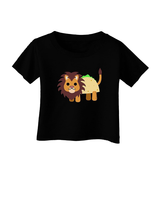 TOOLOUD Cute Taco Lion Infant T-Shirt Dark