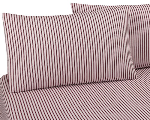 DELANNA Flannel Pillowcases 100% Cotton Standard Size 20