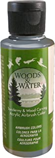 product image for Badger Air-Brush Co. 4-Ounce Woods and Water Airbrush Ready Water Based Acrylic Paint, Dark Gray