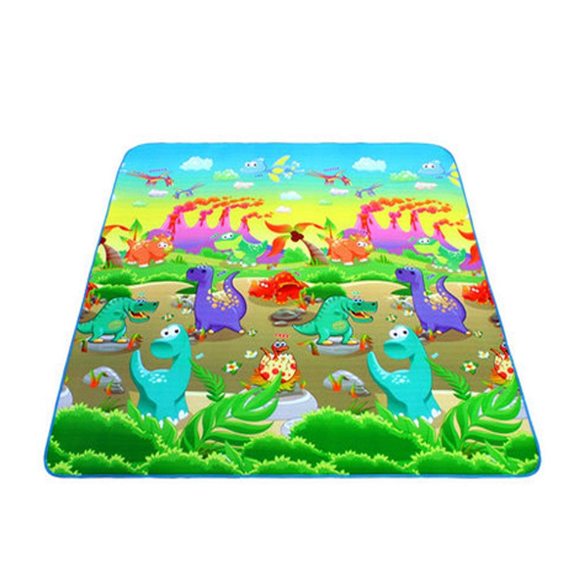 Qiyuezhuangshi Camping Mat, Outdoor Waterproof Beach Mat, Picnic Mat, Oxford Fabric, 180  150 cm, Suitable for Outdoor Travel, Multicolor Optional Exquisite (color   A003, Size   180  150cm)