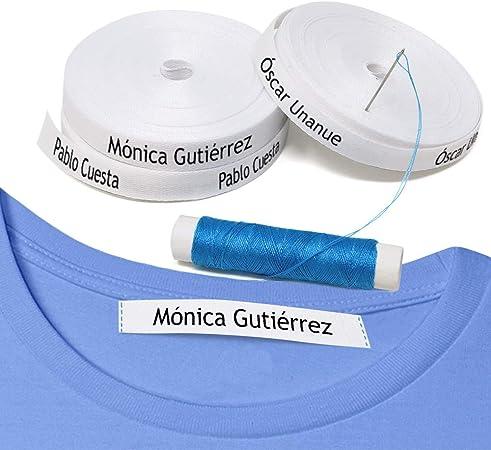 100 etiquetas para coser a la ropa. Etiquetas personalizadas de ...