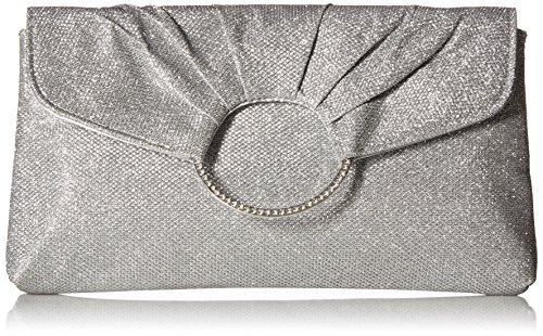 McClintock Clutch Envelope Silver Jessica Meadow UxqYA6ndw