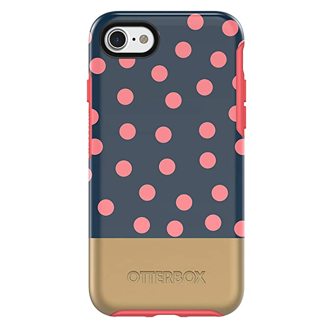 iphone 8 case red polka dot