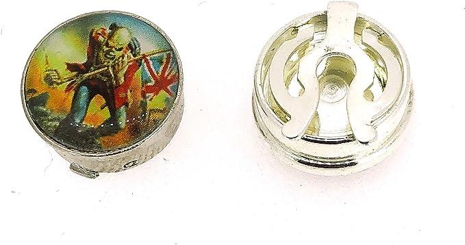 Gemelolandia Cubrebotones Iron Maiden: Amazon.es: Ropa y ...
