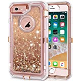amazon com iphone 6 plus \u0026 6s plus cases cell phones \u0026 accessoriesiphone 6s plus case, iphone 6 plus case, anuck 3 in 1 hybrid heavy