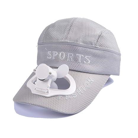 ZAIYI Gorra de béisbol de enfriamiento del Ventilador del Sombrero ...