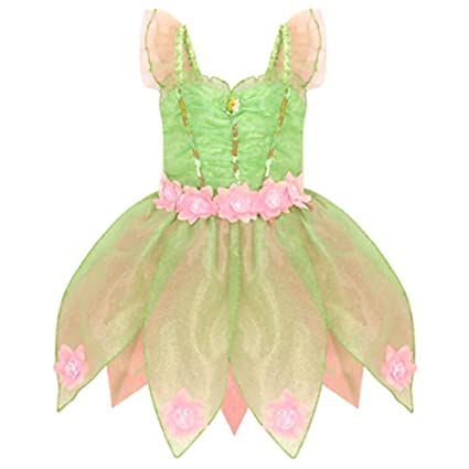 Disney Store Deluxe Heart-shaped Jewel Tinker Bell Tinkerbell Costume (M Medium 7-  sc 1 st  Amazon.com & Amazon.com: Disney Store Deluxe Heart-shaped Jewel Tinker Bell ...