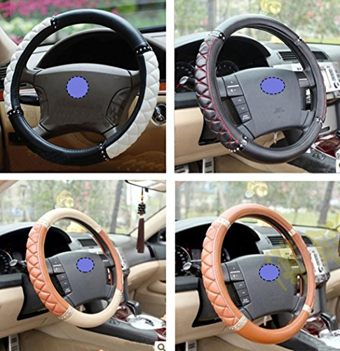 Fashion Car Interior Accessories Steering Wheel Cover Imitation Sheepskin Ms Female Cute