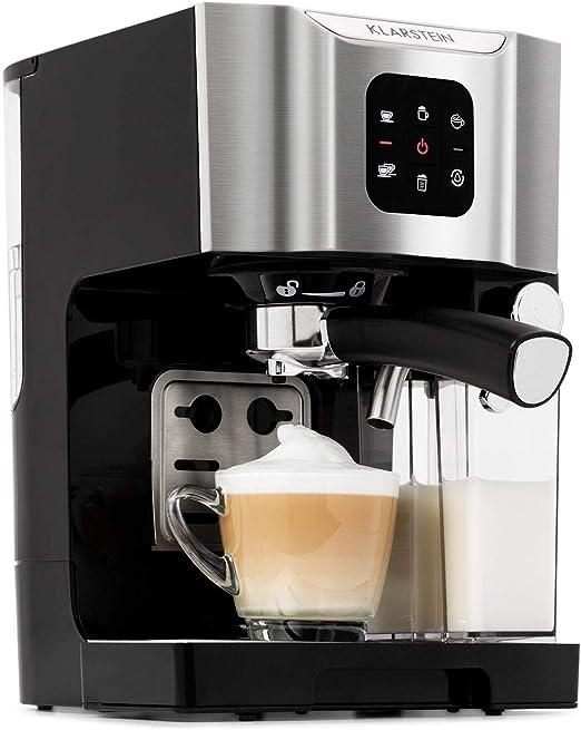 Klarstein BellaVita - Máquina de café, 3 en 1 para espresso ...