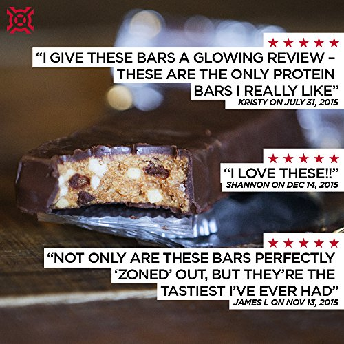 PROGENEX® The Bar Protein Bar | Delicious Sports Performance Nutrition Bar For Men And Women | 12 Individually Wrapped Bars, Peanut Butter Caramel Crunch