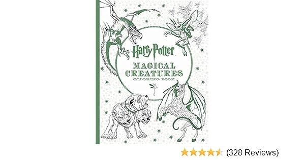 Harry Potter Magical Creatures Coloring Book Scholastic