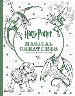 Harry Potter Magical Creatures Coloring Book Scholastic 9781338030006 Amazon Books