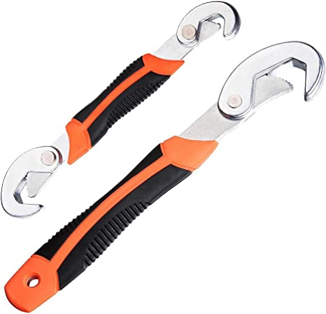 Spanner Wrench Universal All In One Adjustable Size Multi Tool Handy Kit Grips