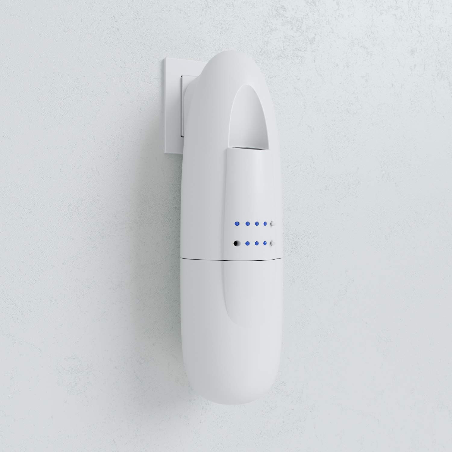 Aromasters Smart Aroma Scent Diffuser with Complimentary Oil Bottle - Wall Plugin Scent System, Portable Medium Space Home Essential Oil Diffuser by Aromasters