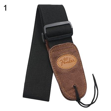 Yeshi Ampliación algodón ajustable cinturón correa para guitarra ...