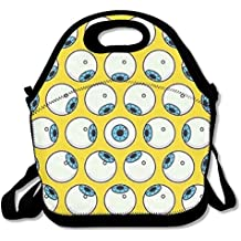 GT-0UJR Eye Lunch Tote Bag Picnic Lunchbox Lunch Tote Insulated Reusable Container Organizer For, Adults, Kids For School Work Outdoor