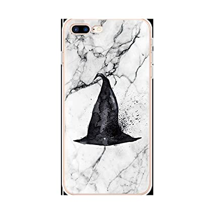 Amazon.com: Transparent Luxury Marble Case for iPhone 8 7 ...