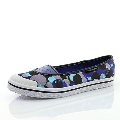 adidas Ballerines 20297Femme Violet - Multicolore - black1/purpur/neopur, 36 2/3 EU
