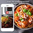 Instant Pot Smart WiFi 6 Quart Electric Pressure Cooker, Silver