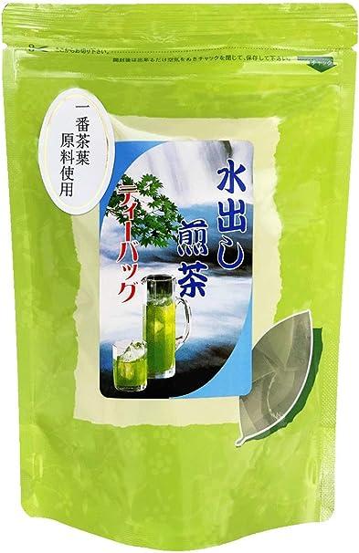 水出し煎茶ティーバッグ5g×15個 | 一番茶原料使用 | 高品質緑茶 (水出しティーバッグ1パック)