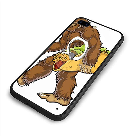 abdb80b56a Image Unavailable. Image not available for. Color: Bigfoot Carrying Taco  iPhone 7/8 Plus Case ...