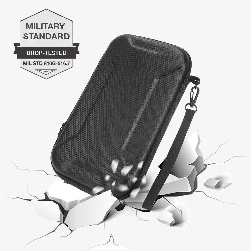 HIJIAO Hard Concise Travel Case for Zhiyun Smooth Q2 Handheld Gimbal Stabilizer and /Accessories