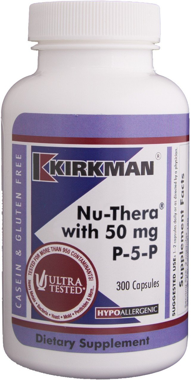 Nu-Thera with 50 mg P-5-P - Hypoallergenic