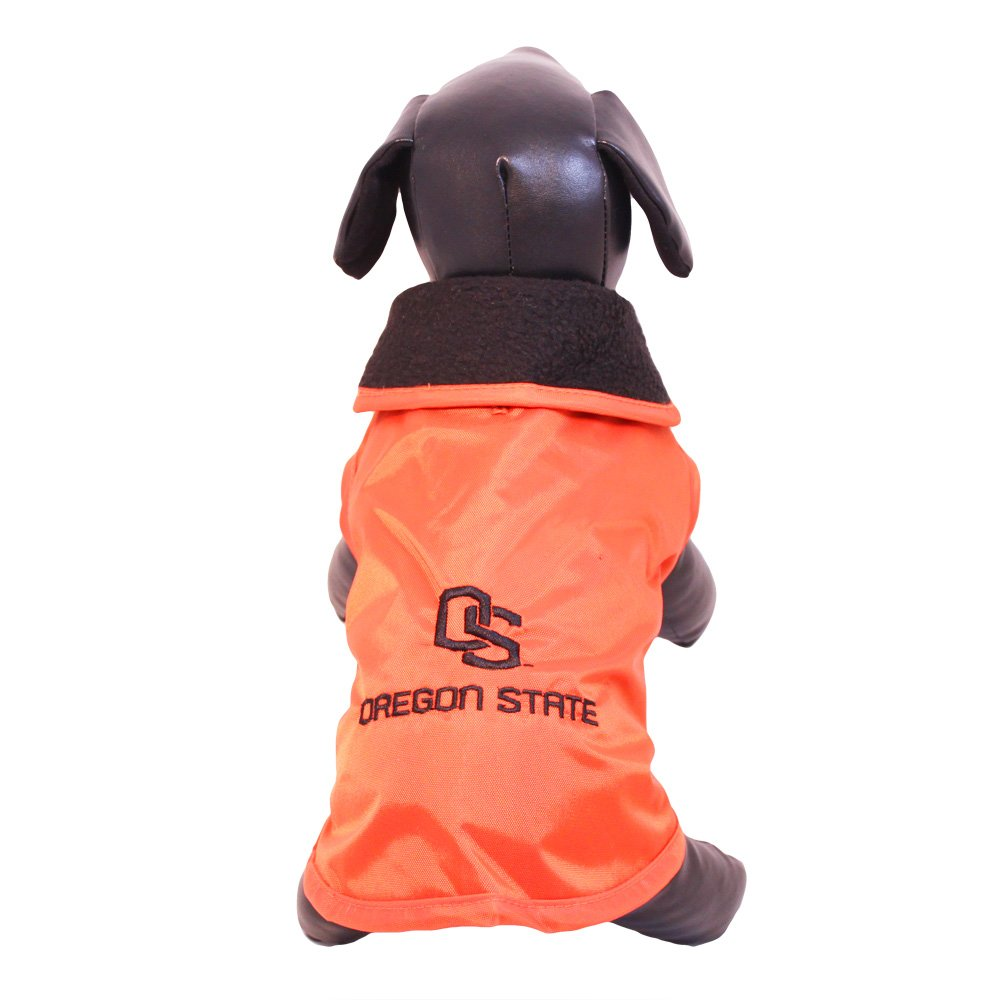 All Star Dogs Oregon State Beavers All Weather Resistant Predective Dog Outerwear, XX-Small