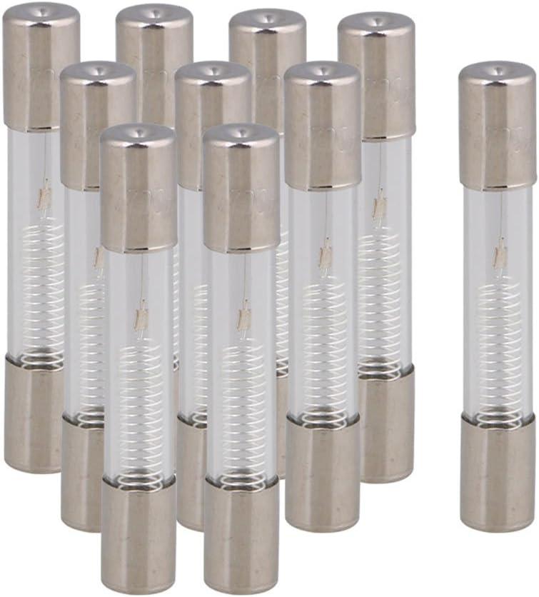 Mxventiladores 10PCS de alto voltaje 5KV 700mAh fusible de aleación para hornos de microondas