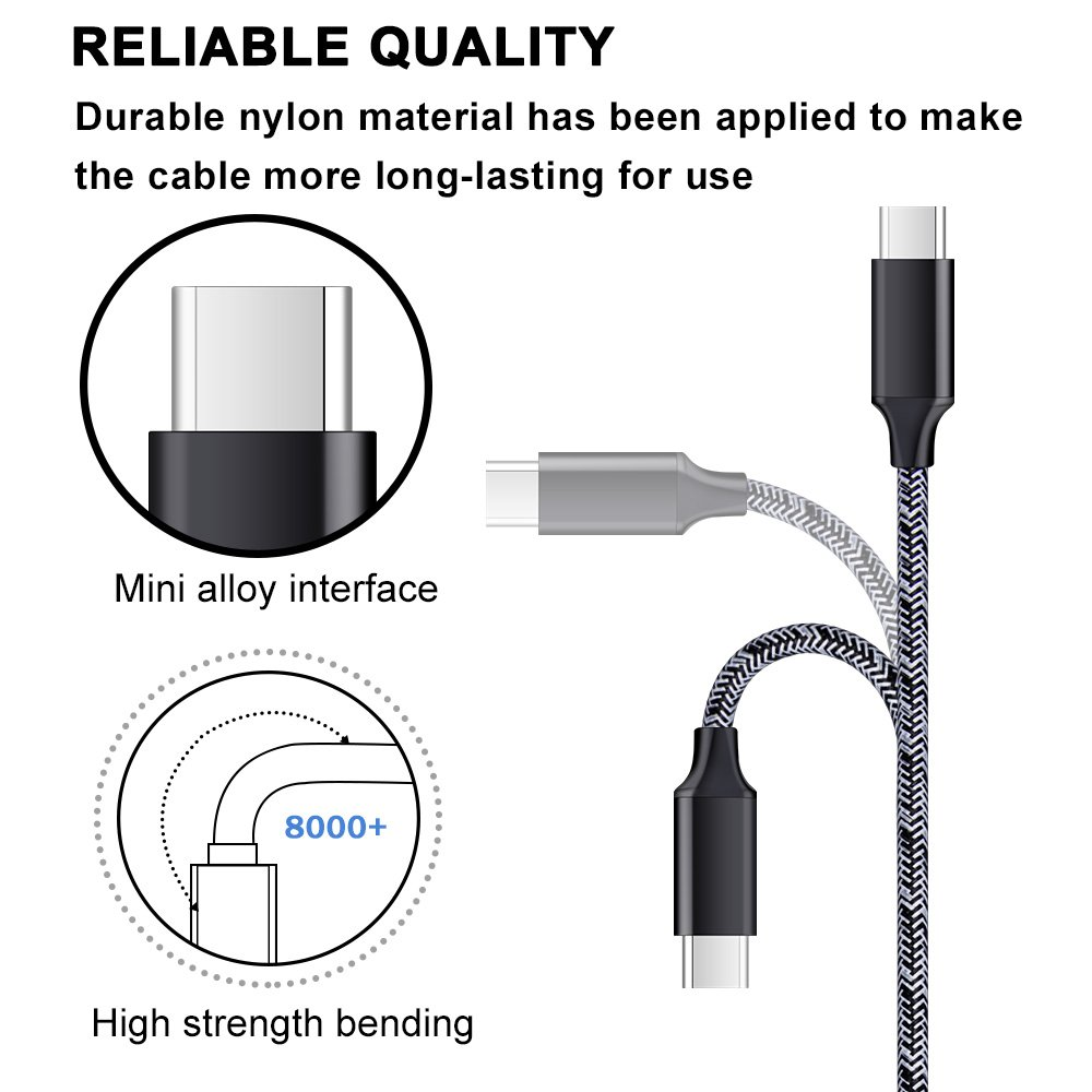 LG G7 ThinQ//G6//V20//V30 Car Charger with Type C Cord Kit AbcPow Car Power Adapter Fast Charging Dual Port USB Plug with 6FT Nylon Charge Cables for Samsung Galaxy Note 9//S9//S9 Plus//S8//S8 Plus//Note 8