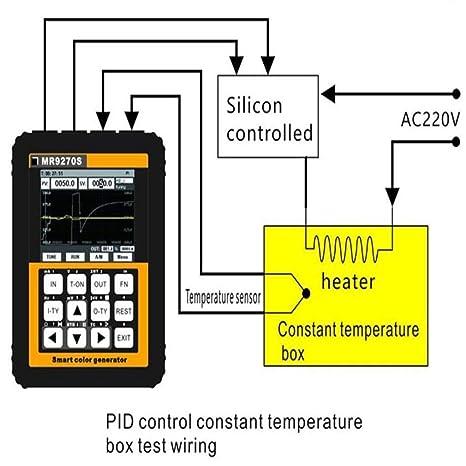 Amazon.com: nouler Juler Mr9270S Resistance Current ... on digital multimeter circuit diagram, voltmeter block diagram, voltmeter switch diagram, simple led circuit diagram, voltmeter parts diagram, voltmeter circuit diagram,