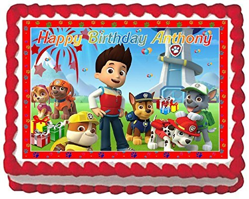 Paw Patrol Cake Designs: Amazon.com