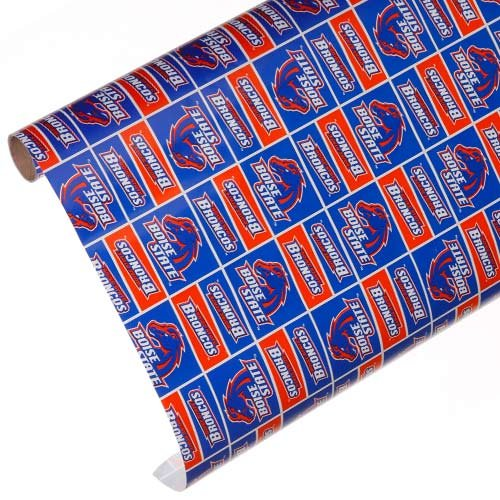 Boise State Team Wrapping Paper