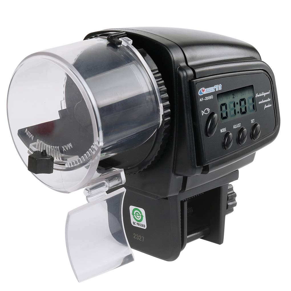 irene inevent Digital LCD Automatic Aquarium Tank Auto Fish Food Feeder Timer Pet Feeding Dispenser by irene inevent
