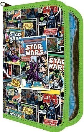 Star Wars - Estuche para niños lleno para lápices y ...